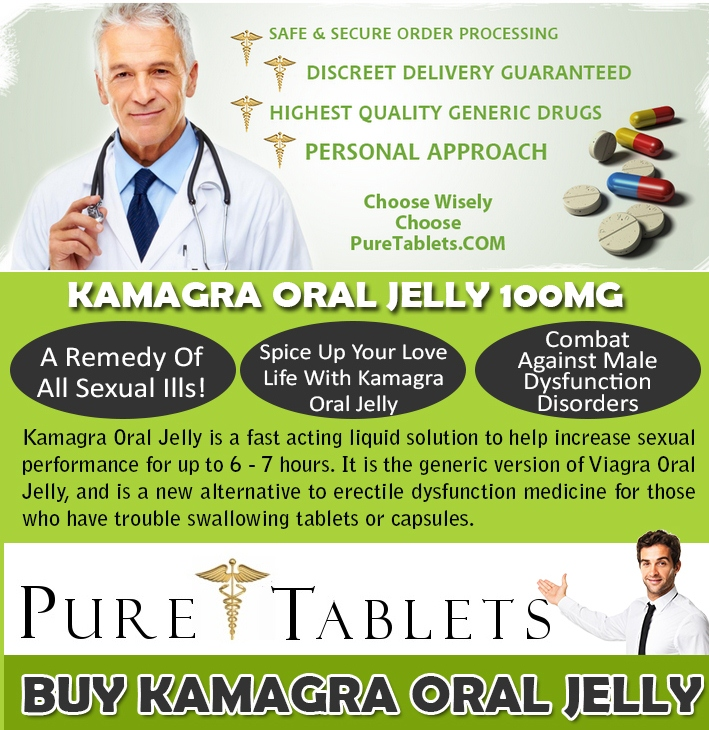 Treat Erectile Dysfunction With Kamagra Oral Jelly