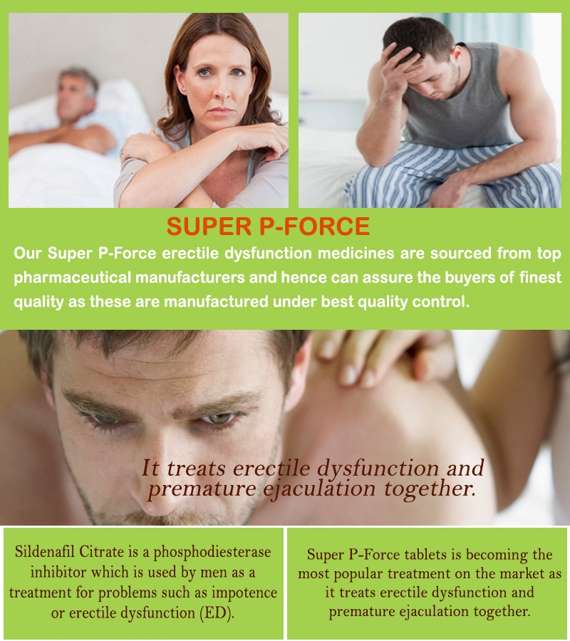 Best Super P Force Review For Erectile Dysfunction
