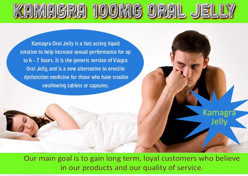 Kamagra Oral Jelly UK Suppliers
