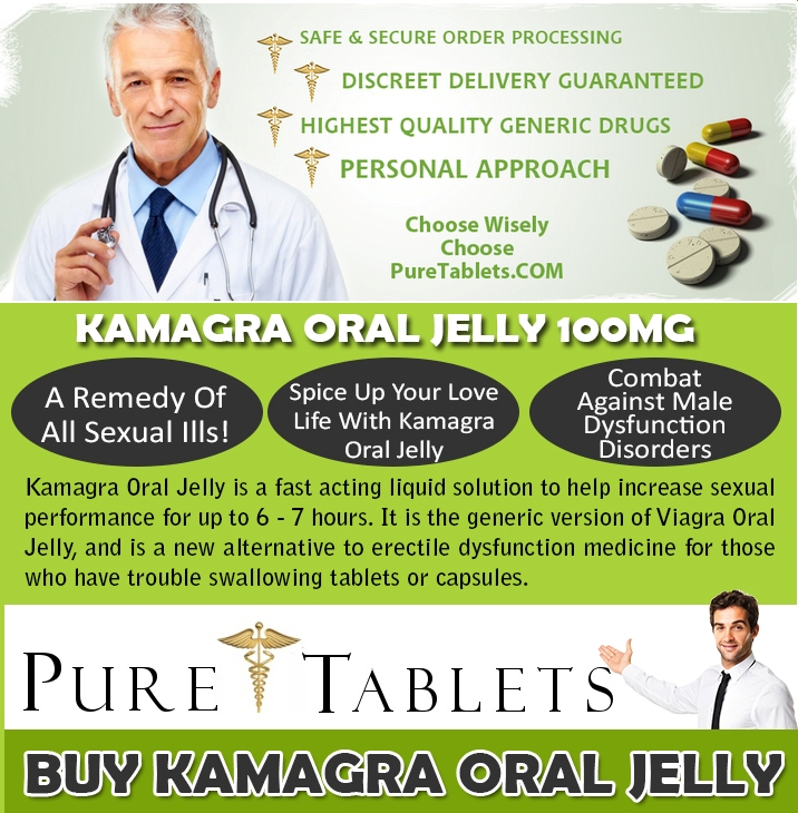 Kamagra 100mg Oral Jelly UK