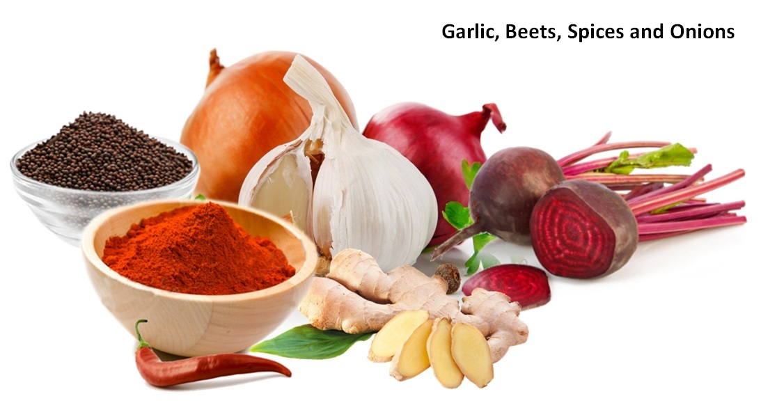 Garlic, Beets and Onions